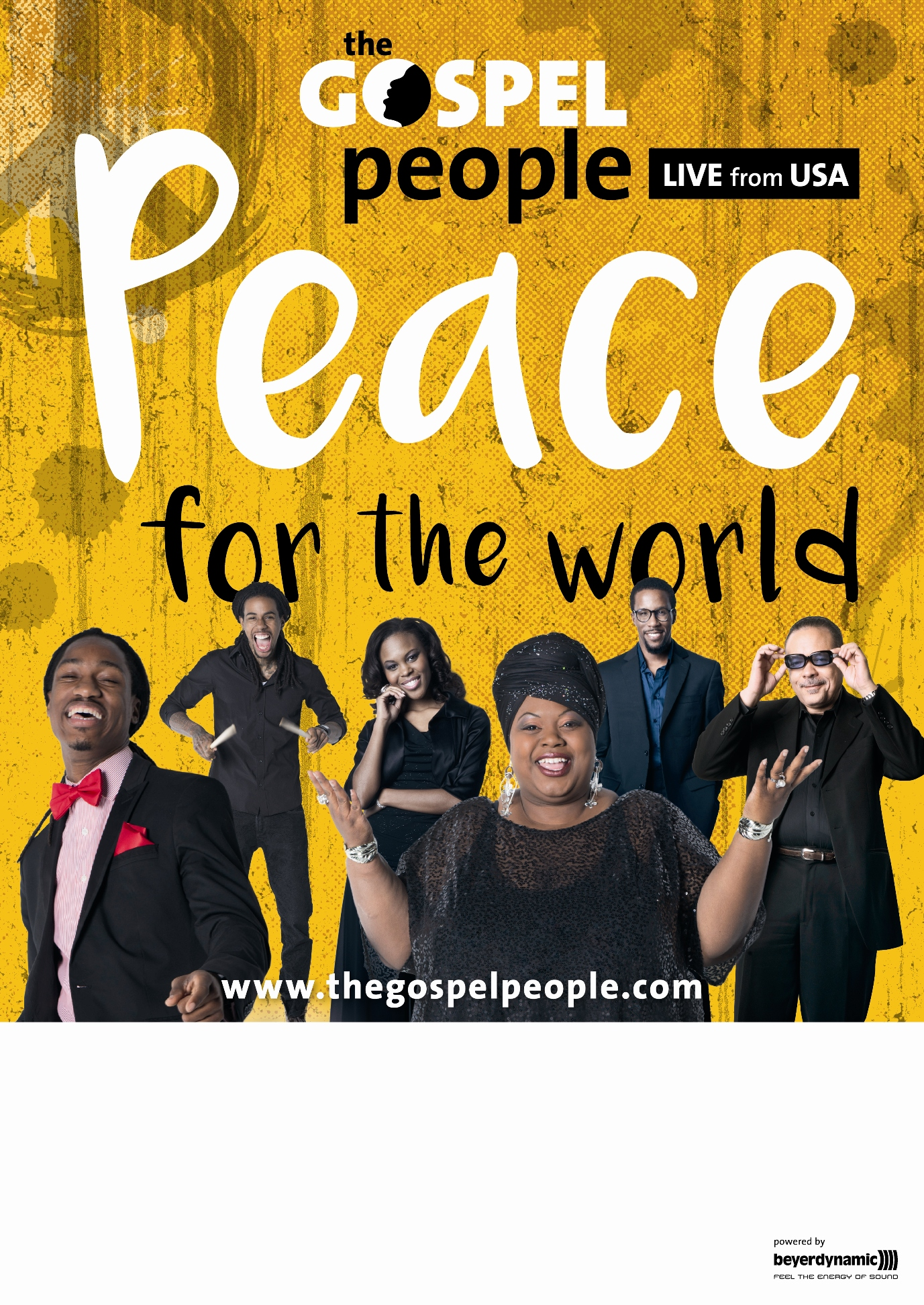 Plakat Peace for the World A3 PDF